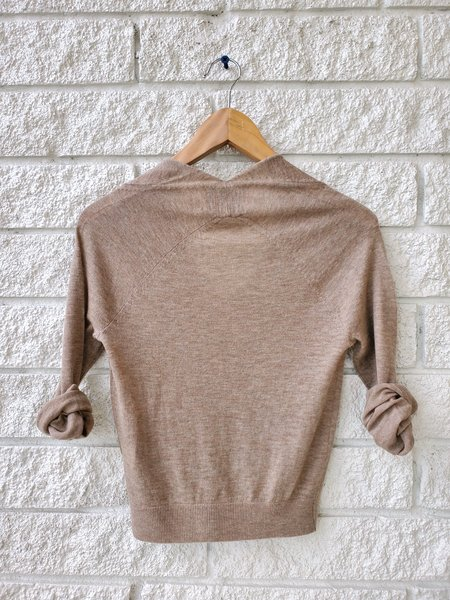 Brochu Walker Asta Wrap Sweater - Nyrobian