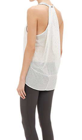 VPL Exertion Tank: White Mesh