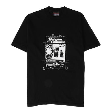 Babylon Compact Tapes T-shirt - Black