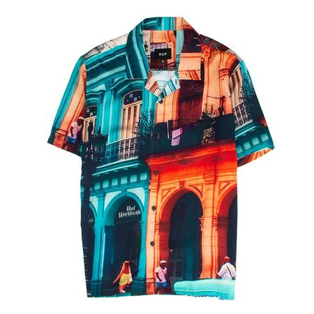 Huf Havana Resort Shirt - Mint