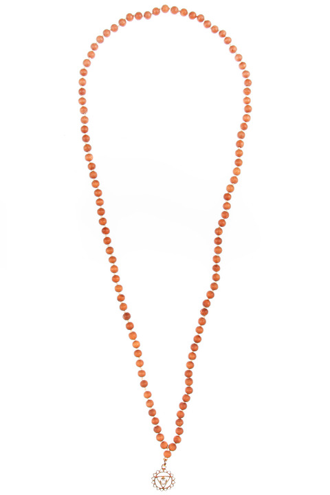 Merchant Society Fifth Chakra 'Mala' necklace