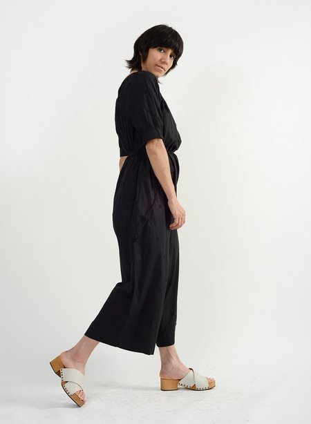 Meg Barragan Jumpsuit - Black