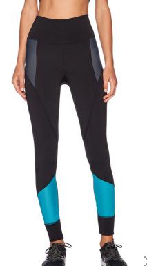VPL Femur Legging Wide: Turquoise