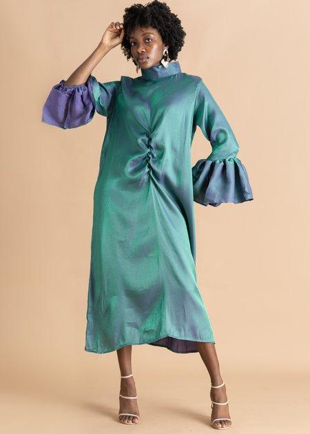 Onalaja Xerona Silk Dress