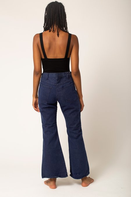 Preservation Vintage High Rise 70s Flare Jeans