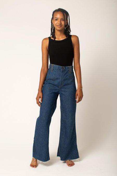 Preservation Vintage High Rise Wide Leg Jeans