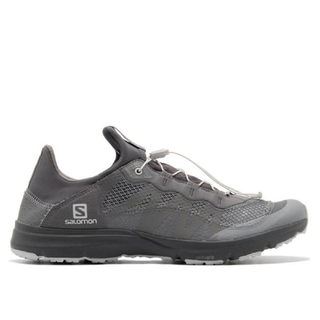 And Wander x Salomon Reflective Mesh Sneakers - Gray