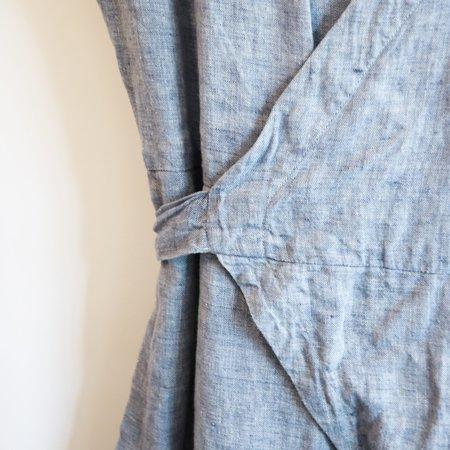 [Pre-loved]  Studio 412 Wrap Jumpsuit - Light Blue