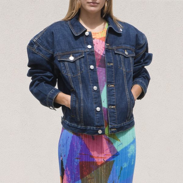 Martine Rose Pato Jacket - Deep Blue