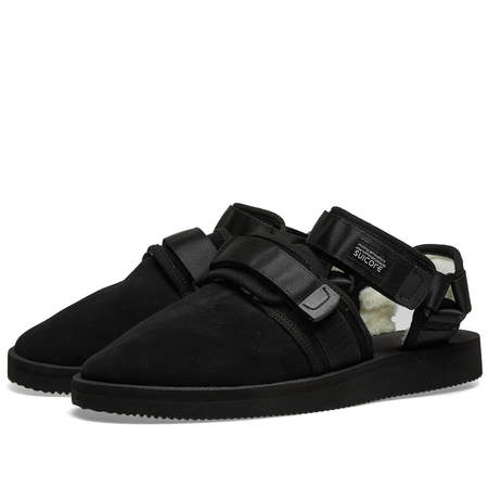 SUICOKE NOTS-Mab Sandals - Black