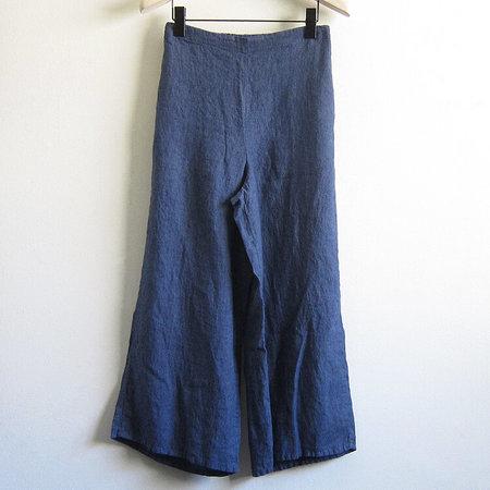 Flax Designs Sociable Flood Pant - Denim Yarn Dye