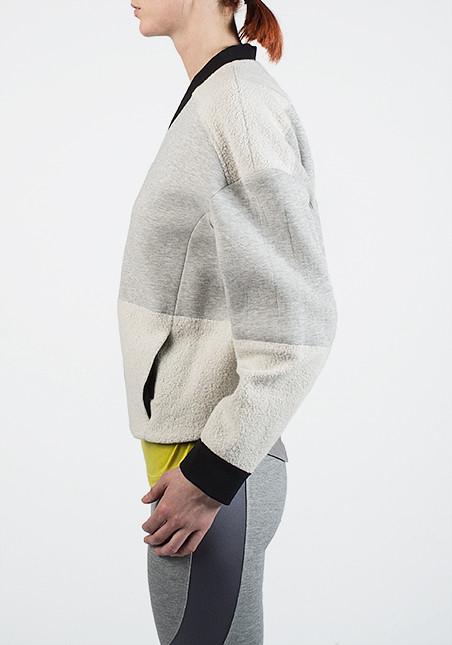 VPL Panopoly Jacket: Heather Grey x Black
