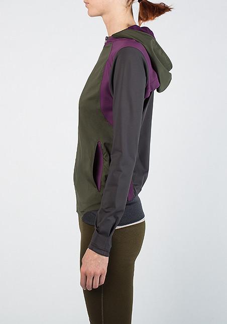 VPL Scuba Jacket: Military x Eggplant