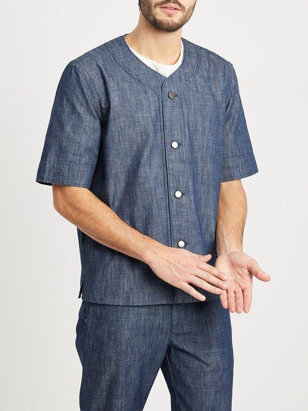 O.N.S Barlow Baseball Shirt - Indigo