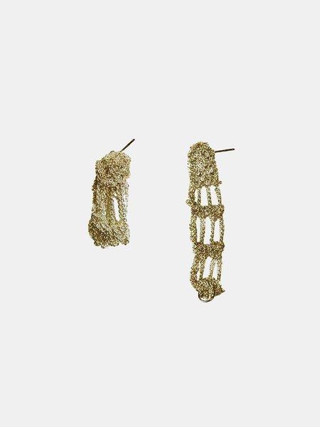 arielle de pinto cuff earrings - haze