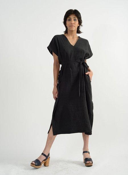 Meg Mezcal Shifty Dress - Black