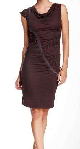 VPL Swag Midi Dress: Eggplant