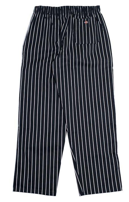 nakamuraya Dickies Chef Buggy Pants - Black/White Stripe