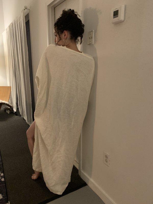 If I Fell Linen Everyday Caftan Dress