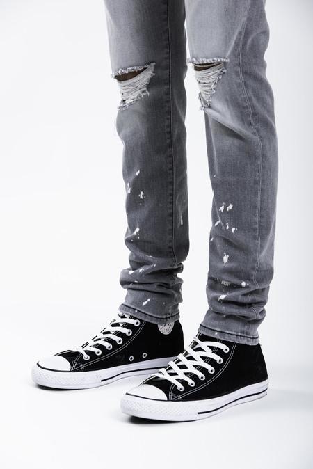 Represent Destroyer Denim Jeans - Light Grey