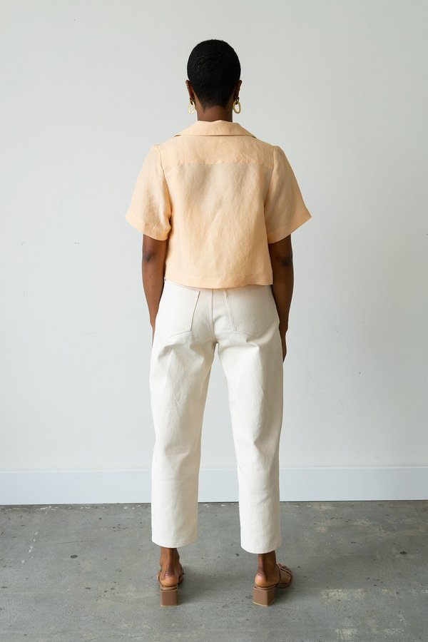 Waltz Carrot Jean - Natural Denim