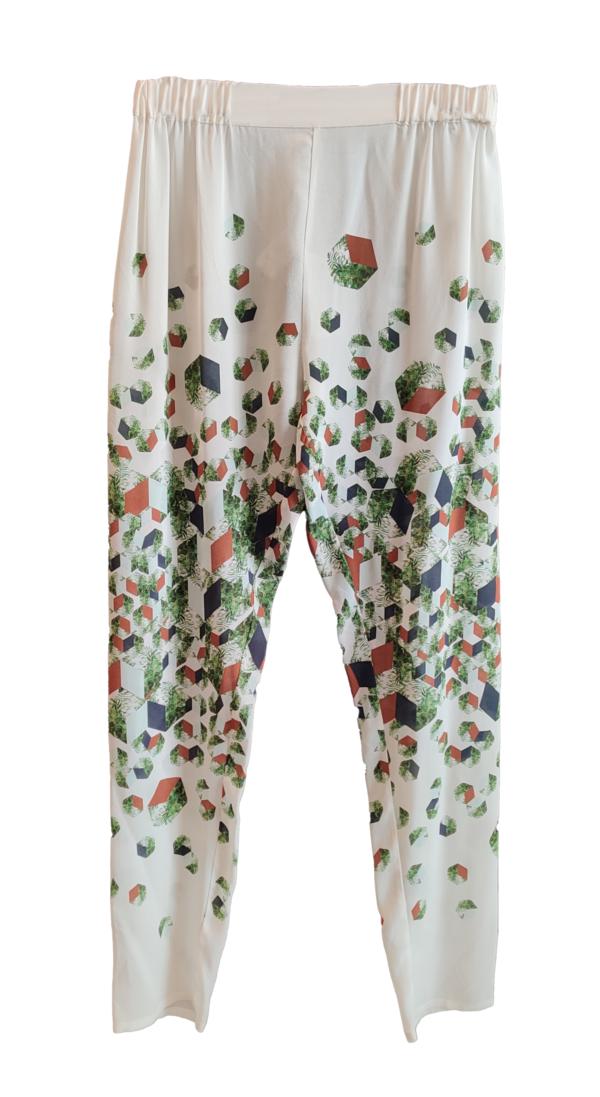 REALITY STUDIO Cubo Trousers - White/Print