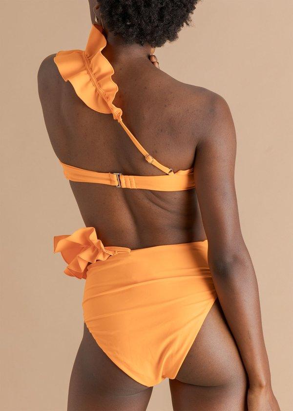 Andrea Iyamah High Waist Bikini - Kari Orange
