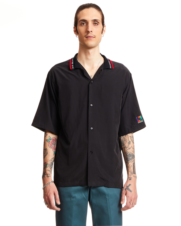 Martine Rose Cotton Blend Barrett Shirt - Black
