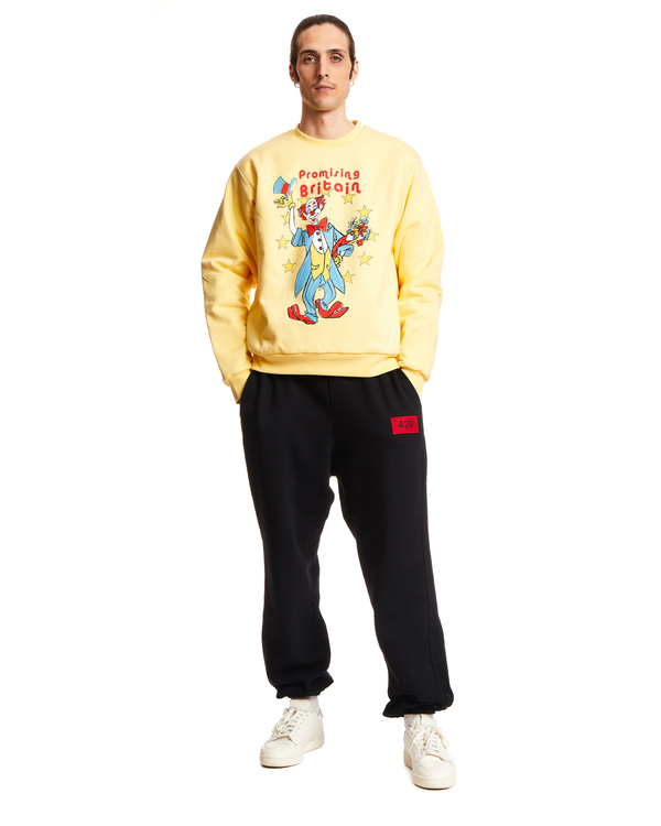 Martine Rose Reversible Cotton Sweatshirt - Yellow