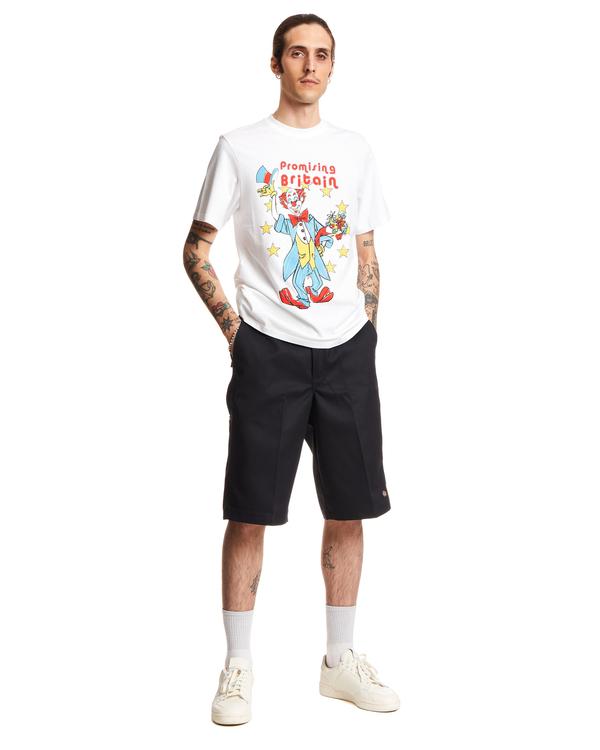 Martine Rose Clown ArtWork T-shirt - White