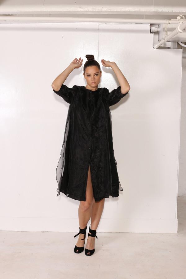 Intentionally Blank HUNTLEY DRESS Black