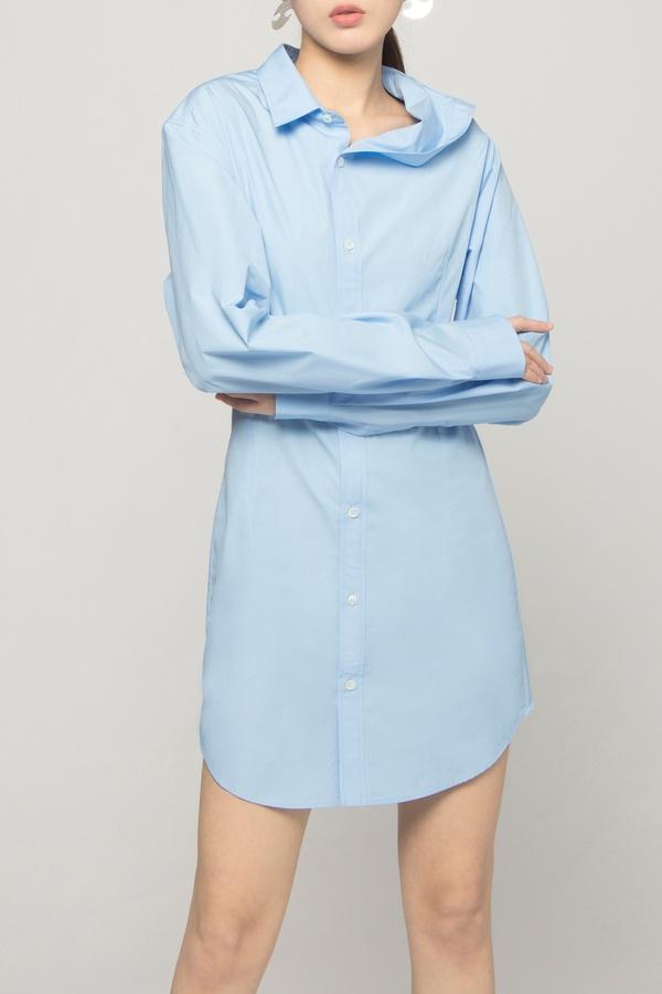 Y/project ASYMMETRIC SHIRT DRESS