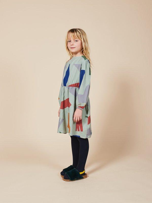 Kids Bobo Choses Shadows Dress - Desert