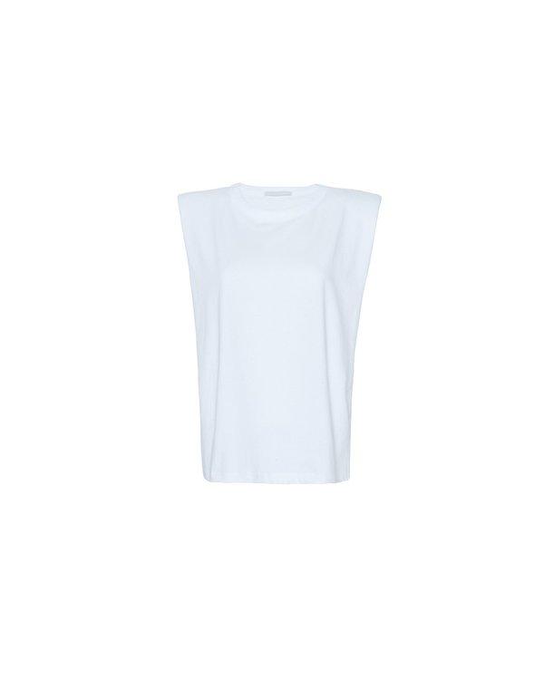 Moonpaper Miko Padded Shoulder T-Shirt