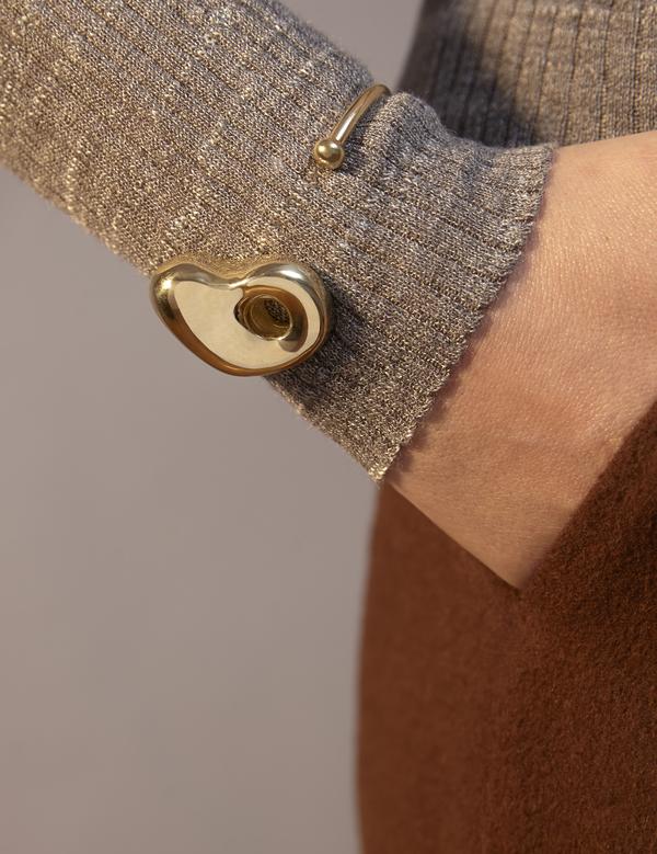 Leigh Miller Gold Plated Moore Bracelet
