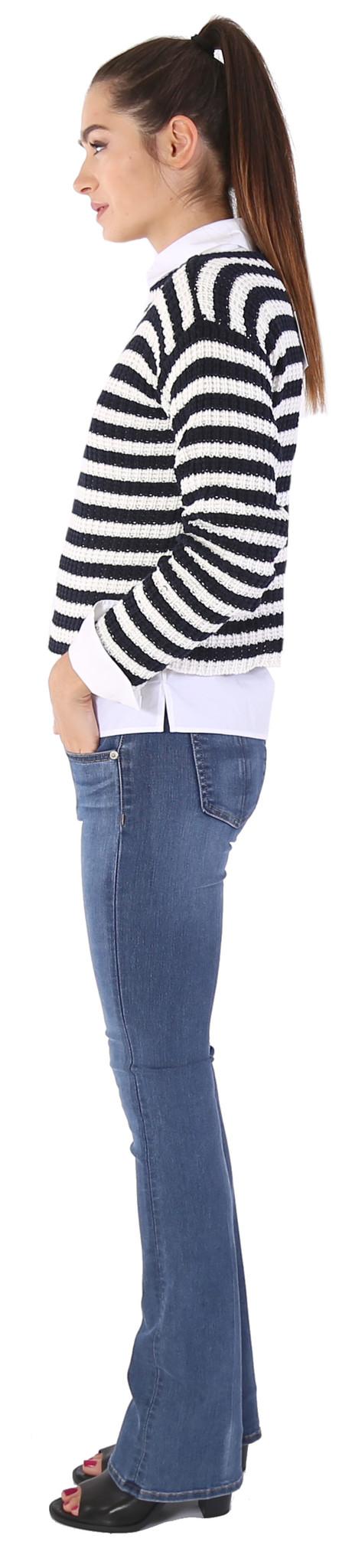 LILYA Amethyst Knit Sweater
