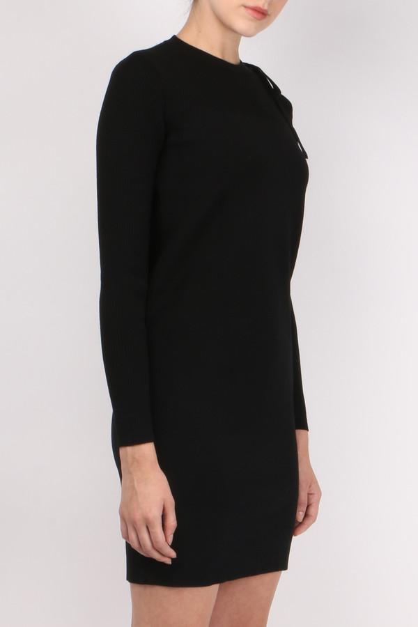 (nude) Round Neck Dress