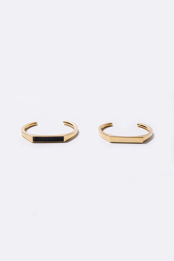 Angled Cuff - Gold