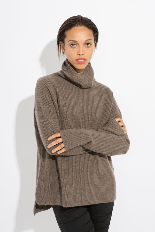 Find funnel neck cashmere sweater at ShopStyle. Shop the latest collection of funnel neck cashmere sweater from the most popular stores - all in one.