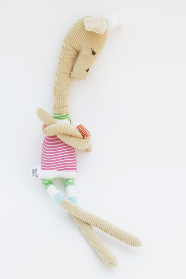 Polka-Dot Peanut Parade giraffe soft toy