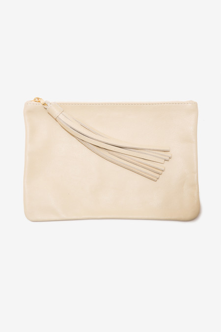 moses nadel Pouch Large - Cream