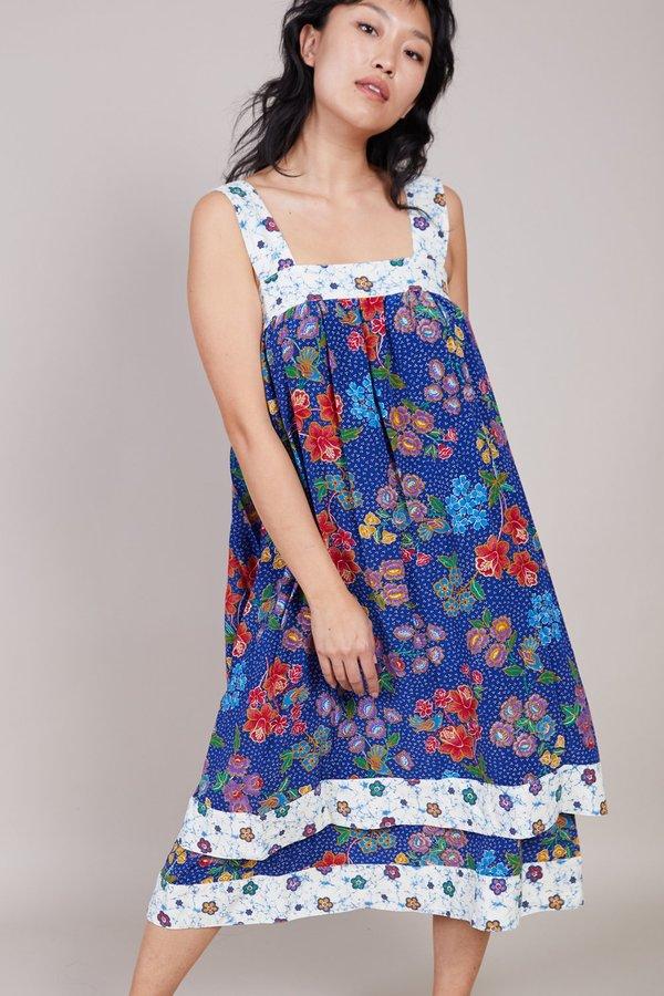 Warm Margaritaville Dress - Blue