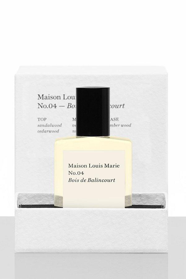 Maison Louis Marie No. 4 Bois de Balincourt Perfume Oil