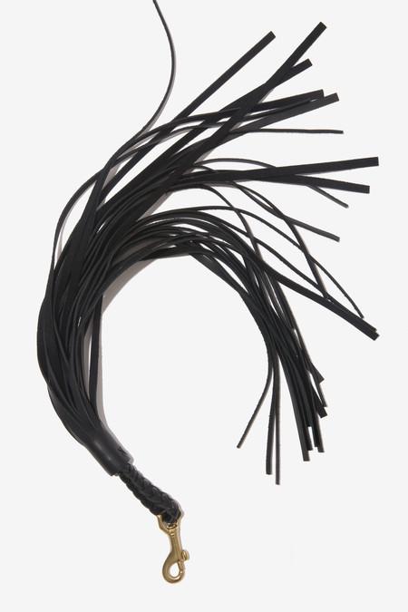 Moses Nadel Tassel Charm - Black