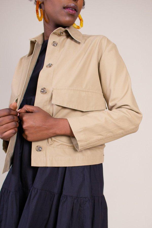 GREI Sack Pocket Ivy Jacket - Khaki