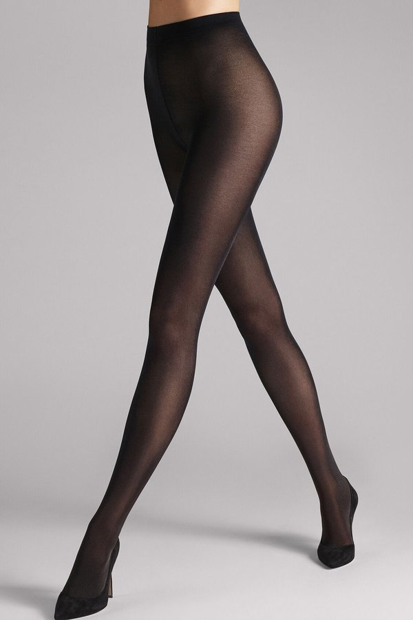 Wolford Satin Opaque 50 Tights - Black