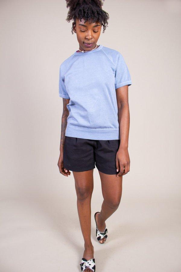 Save khaki United Short Sleeve Fleece Beach Sweatshirt - Storm