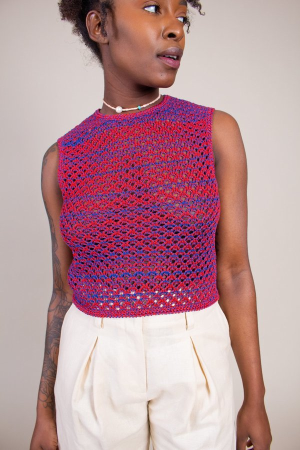 No.6 Silas Crochet Top