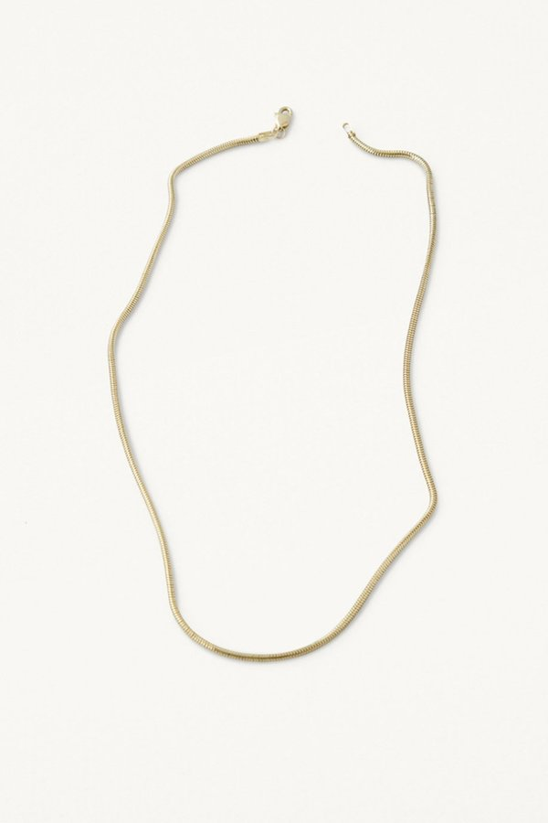 Kathleen Whitaker Snake Chain Necklace - 14K Yellow Gold