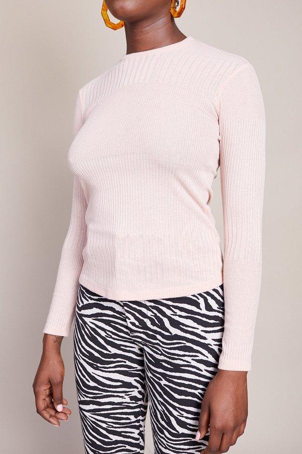 No.6 Stellan Crewneck Knit Top - Blush